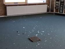 Vandalisme bij schoolgebouw in Oude Wetering