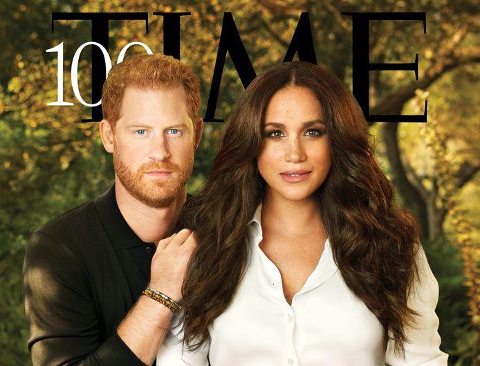 Prins Harry en zijn vrouw Meghan zijn opgenomen in de lijst met de honderd meest invloedrijke mensen ter wereld van 2021.