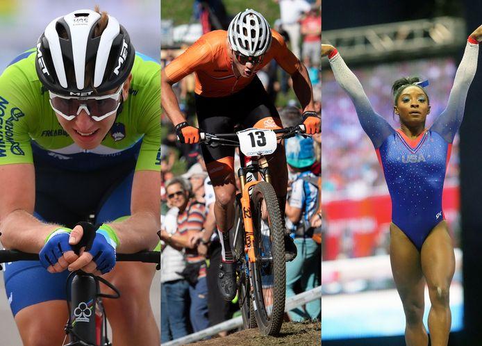 Tadej Pogacar, Mathieu van der Poel en Simone Biles gaan op zoek naar olympische glorie in Tokio.
