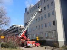 Wéér brand in flat aan de Heuvellaan, politie stelt onderzoek in