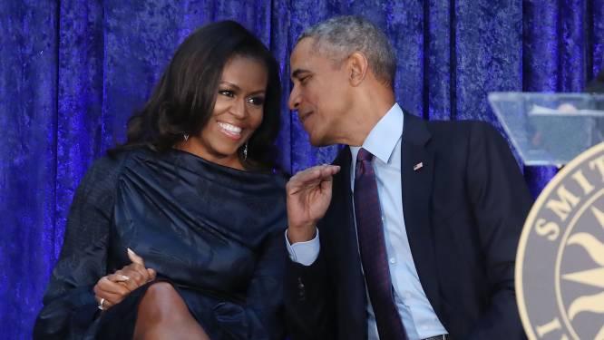 """Michelle Obama: """"Vier jaar geleden was nederlaag veel nipter en ook erg pijnlijk, maar we gingen wel voor vlotte en respectvolle machtsoverdracht"""""""