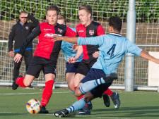 Nieuwkomer Cedric Badjeck scoort voor winnend De Treffers