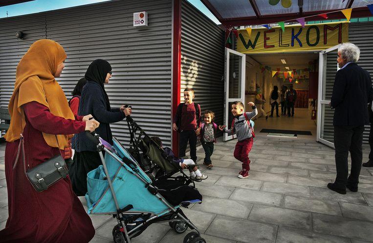 In Wallonië en Brussel bestaan al enkele islamitische scholen. Nu lijkt ook Vlaanderen er een te krijgen. Beeld Tim Dirven