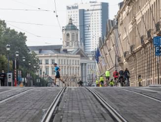 IN BEELD: Autoloze Zondag (met 16.000 wagens) beheerst Brussel en Vilvoorde