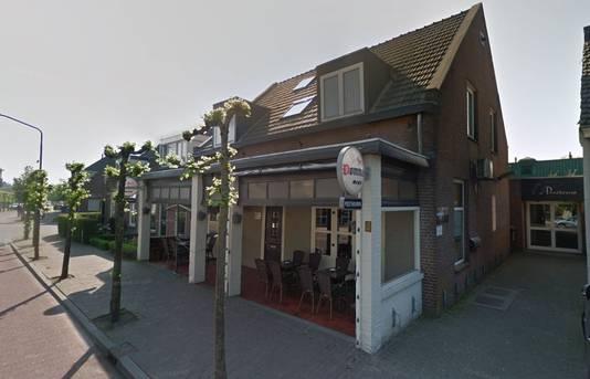 Café De Posthoorn, het strijdtoneel.