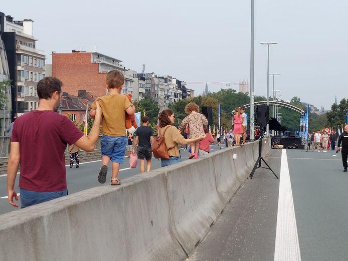 Autoloze zondag in Gent