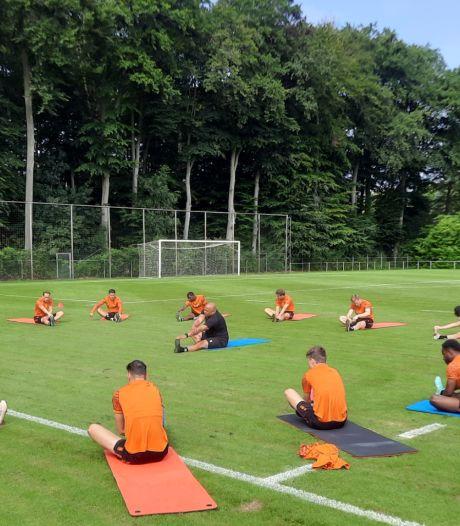 Willem II start trainingskamp met kleine groep