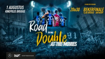 Geen drive-in cinema aan Jan Breydel, dus organiseert Club Brugge 'Bekerfinale at the movies'