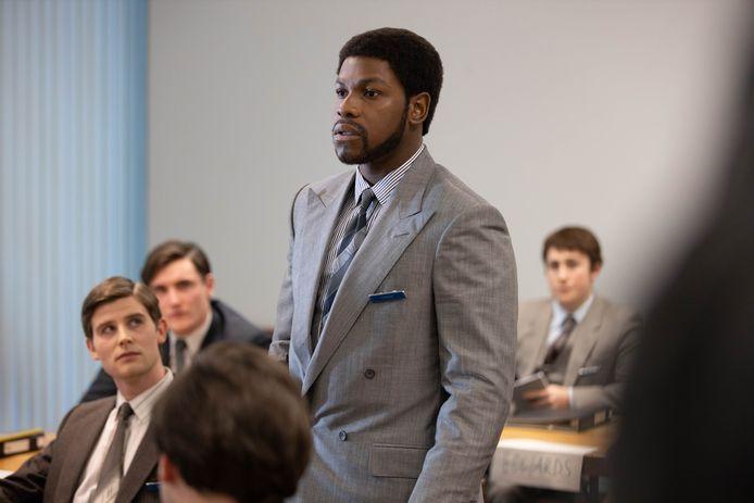 John Boyega als Leroy Logan in 'Small Axe'.
