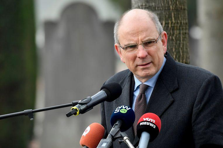 Minister van Justitie Koen Geens Beeld BELGA