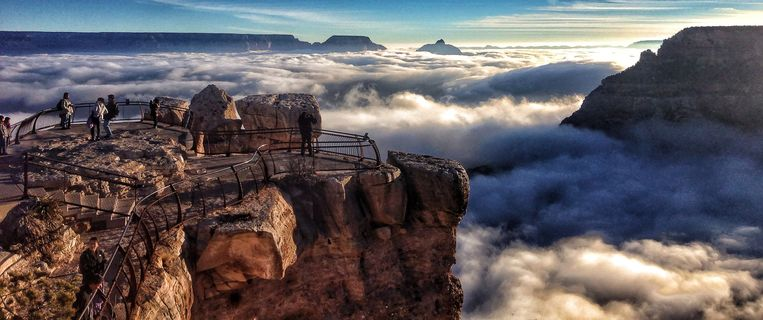Mather Point, Grand Canyon.