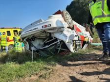 Piet van Hoof uit Wintelre raakt na zware crash niet van de wap; rallyrijder na rugoperatie weer thuis