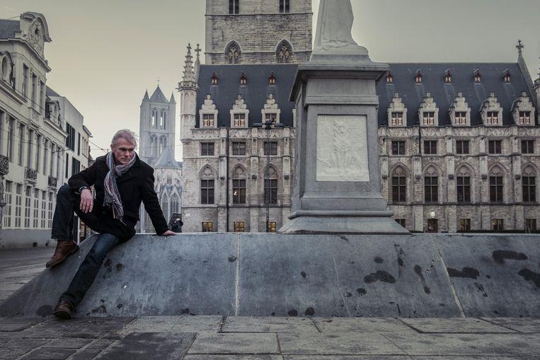 Steven De Smet, ex-hoofdcommissaris bij de Gentse politie, is sinds 2014 aan de slag als adviseur Communicatie, Veiligheid en Strategie bij de Oost-Vlaamse provinciegouverneur Jan Briers. Beeld Jonas Lampens