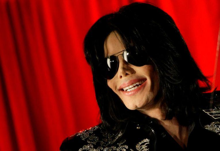 Michael Jackson in 2009, ruim een maand voor zijn dood. Beeld REUTERS