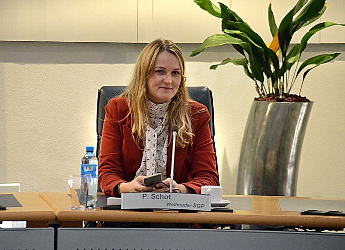 Wethouder Paula Schot.