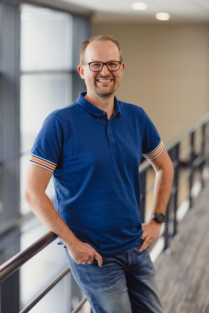 Edwin Vriethoff is als stresscoach neergestreken in het Paramedisch Centrum in Zevenbergen.