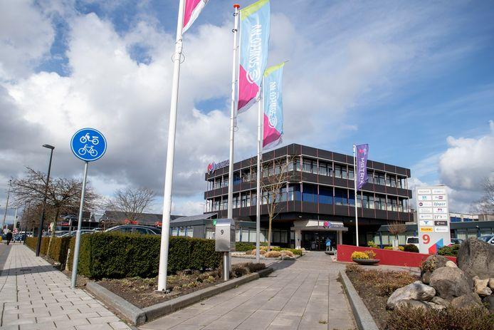 Het hoofdkantoor van Soweco, dat binnenkort wordt opgeheven. Na Wierden en Tubbergen heeft nu ook Twenterand afgehaakt voor de beoogde opvolger.