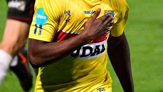 """Kader Keita (KVC Westerlo) na twaalfde gelijkspel van het seizoen tegen RWDM (2-2): """"Twee verloren punten"""""""