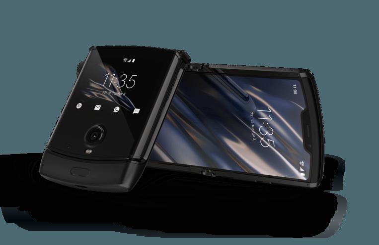 De nieuwe Motorola Razr komt volgende maand in Europa op de markt. Beeld Motorola