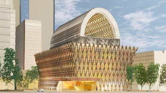 Het prestigieuze project verrijkt de skyline van Den Haag, stelt de gemeente
