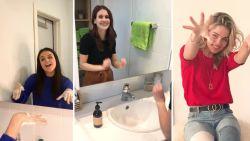 """K3 maakt ook de kleinsten bewust van coronavirus met nieuw liedje 'Handjes Wassen': """"We wilden ons steentje bijdragen"""""""