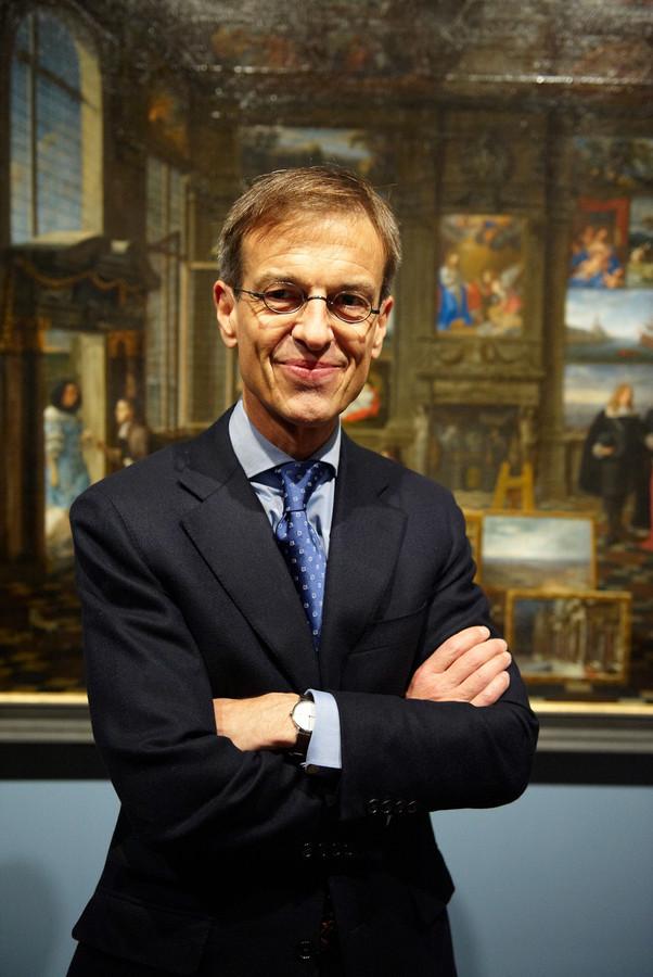 Ben van Beneden, al 11 jaar directeur van het Rubenshuis, gaat binnenkort met pensioen.