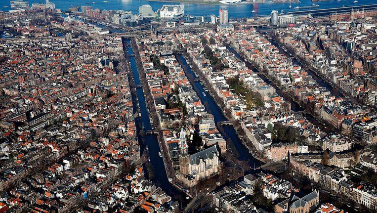 Sinds 2010 staat de Amsterdamse grachtengordel op de werelderfgoedlijst van Unesco Beeld ANP