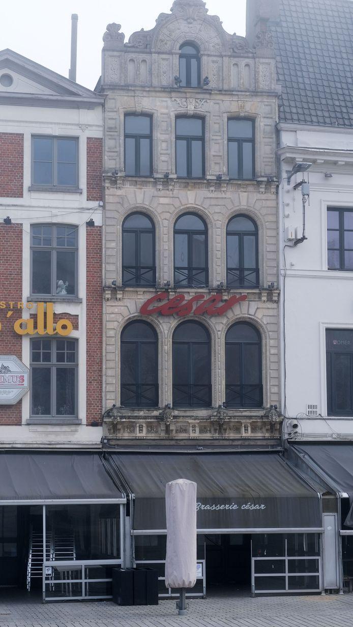 De bekende brasserie César was een naam als een klok in Kortrijk en omstreken.