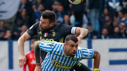LIVE. Moet Juventus titelfeest uitstellen? Floccari brengt SPAL zowaar op voorsprong