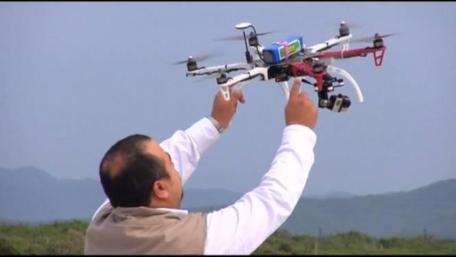 Mexico: Drone moet schildpadden redden