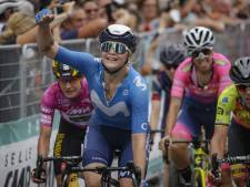 Vos grijpt net naast dertigste etappezege, Van der Breggen blijft leidster