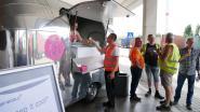 DP World deelt ijsjes uit aan wachtende truckers
