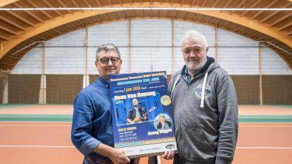 Stan Van Samang en Garry Hagger treden op in Truiense Wimbledon