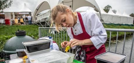 Arnhemse Estée Strooker wint 'loodzware' kookwedstrijd op Big Green Egg