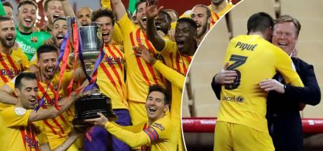 Bij FC Barcelona brengt Koeman de glimlach eindelijk weer terug