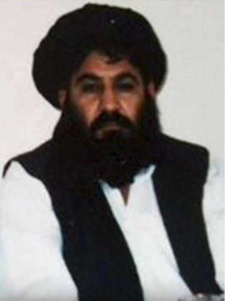 Volgens de taliban is dit Mullah Mansour. Beeld REUTERS