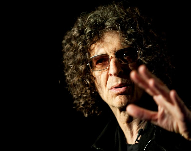 Radiohost Howard Stern.