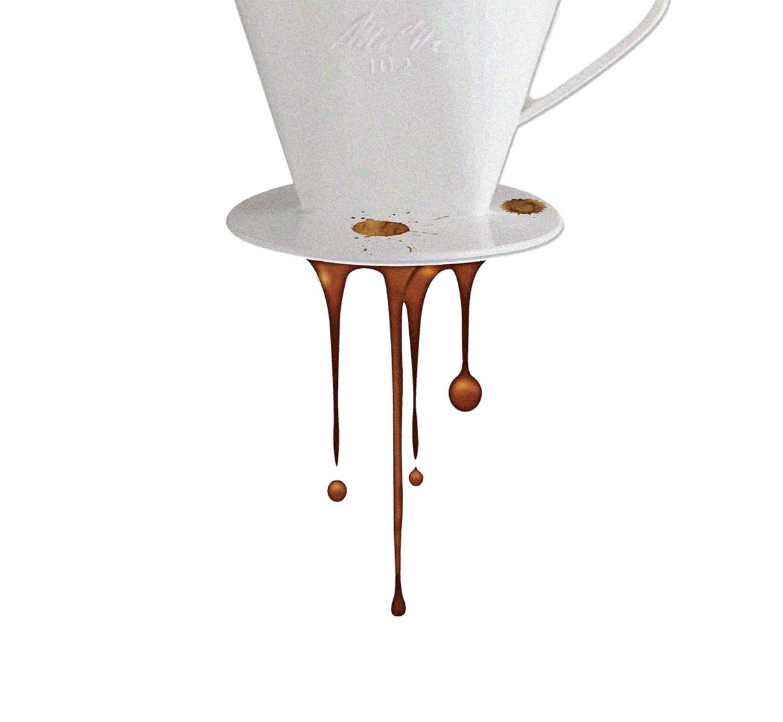 Nederlanders drinken in liters 8 procent minder koffie dan vijftienjaar geleden, maar geven er wel 20 procent meer geld aan uit.