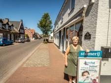 De Dorpsstraat in Lieshout is dun aan het worden