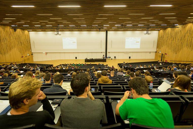 Studenten aan de UGent.