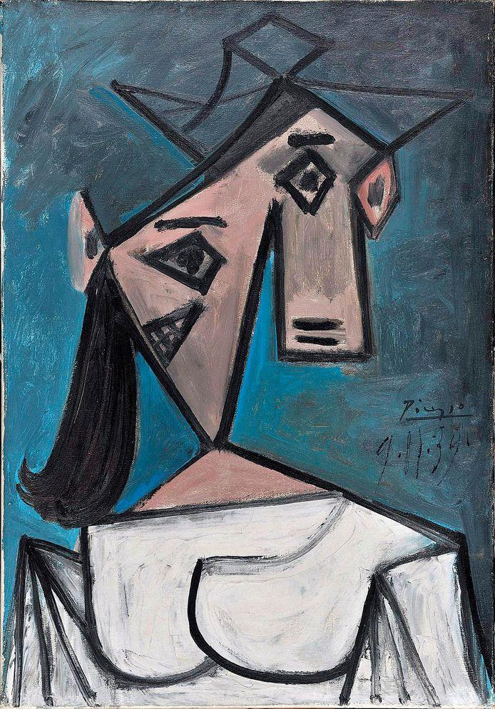 'Vrouwenhoofd' door Pablo Picasso