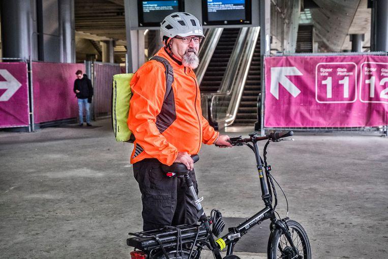 De werken aan het station Gent-Sint-Pieters zullen nog zeker tot 2028 duren. Beeld Tim Dirven