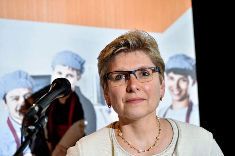 Staatssecretaris Elke Sleurs (N-VA). Beeld Photo News
