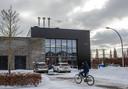 De biomassacentrale van Eteck.