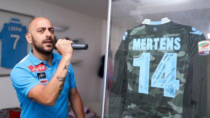 """Stadionomroeper van Napoli en goeie vriend van Mertens: """"De dag dat Dries Napoli verlaat, zullen veel mensen huilen. Ook ik"""""""