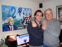 Thierry Baudet op bezoek bij Hans Smolders in Tilburg, december 2017.