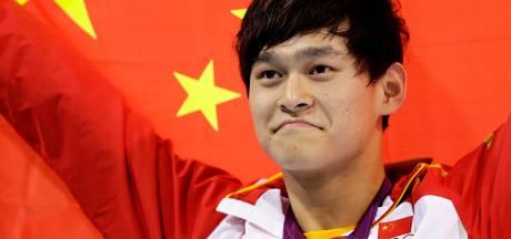 Chinese topzwemmer Sun Yang voor acht jaar geschorst