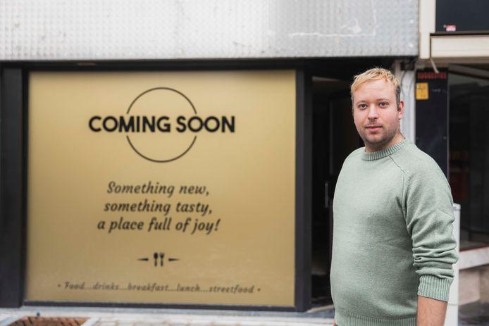 Steffen Heusdens (28) sluit de deuren van brasserie De Klok en opent een gloednieuwe zaak in een pand op de Groenmarkt.