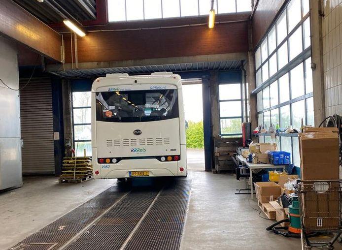 De 246ste, en daarmee ook laatste, Keolis-bus heeft de speciale verbeterstraat in Zwolle verlaten.