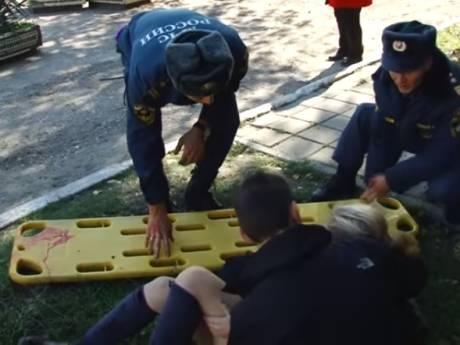 Zeventien doden en tientallen gewonden bij aanslag op de Krim